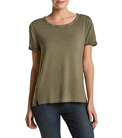 Cable & Gauge® Scoop Neck Shirt
