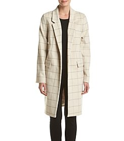 Calvin Klein Windowpane Coat