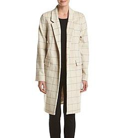 Calvin Klein Windowpane Coat
