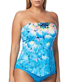 Coco Reef® Scarf Bandeau Tankini Top - D Cup