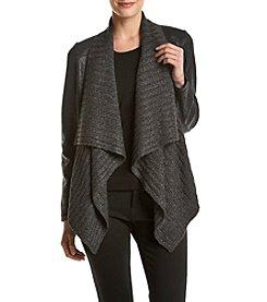 Jones New York® Foil Drape Jacket
