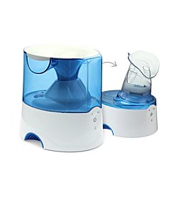 Crane 2-in-1 Warm Mist Humidifier with Steam Inhaler