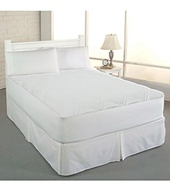 Clean & Fresh Cotton Double Diamond Mattress Pad