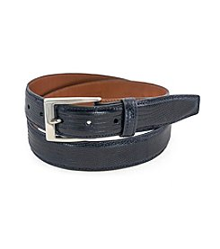 Bryant Park Genuine Lizard Belt