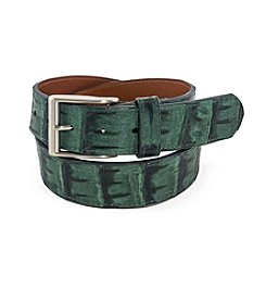 Bryant Park Genuine Crococodile Jean Belt