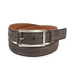 Bryant Park Nubuck Italian Leather Belt