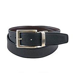 Isaac Mizrahi® Reversible Saffiano Belt