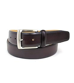Isaac Mizrahi® Burnished Leather Belt