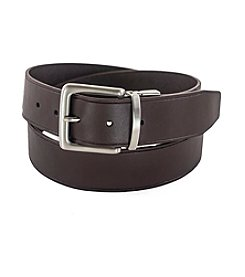 Prospect Park Leather Garrison Reversible Belt