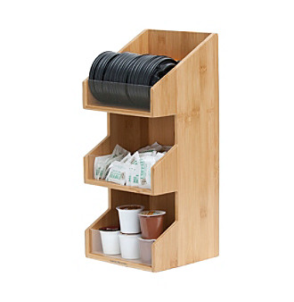 Mind Reader 'Goldie' 3-Tier Condiment Organizer