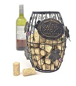 Mind Reader 'Corky' Wine Cork Holder with Ornaments