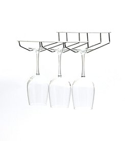 Mind Reader 'Rail' Under Cabinet Wine Glass Stemware Rack Holder