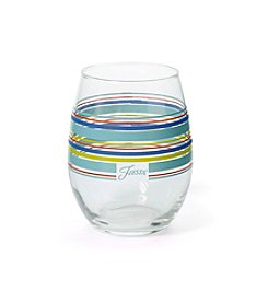 Fiesta® Culver Stripe Stemless Glass
