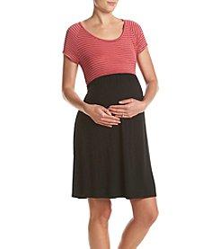 Three Seasons Maternity™ Striped Top Dress