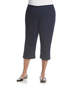 Alfred Dunner® Plus Size Uptown Girl Capri Pants