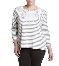 Alfred Dunner® Plus Size Uptown Girl Knit Top