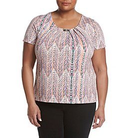 Studio Works® Plus Size Hardware Knit Tee