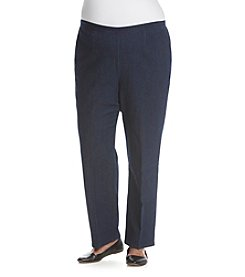 Alfred Dunner® Plus Size Uptown Girl Proportioned Pants
