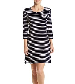 Madison Leigh® Stripe Swing Dress