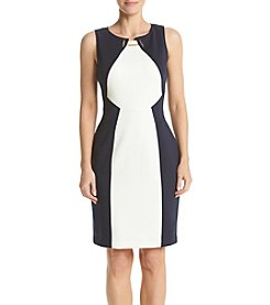Ivanka Trump® Color Block Sheath Dress