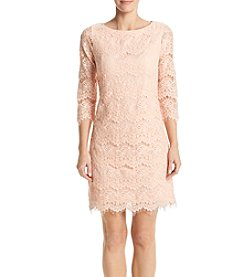 Jessica Howard® Lace Shift Dress