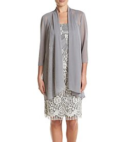 R&M Richards® Lace Jacket And Dress