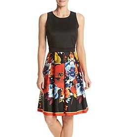 Gabby Skye® Poppy Fit And Flare Dress
