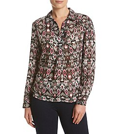 Jones New York® Tapestry Woven Tunic