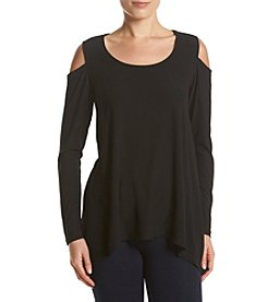 Jones New York Cold Shoulder Knit Top