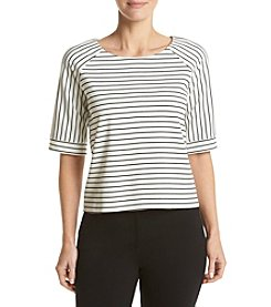Calvin Klein Wide Stripe Top