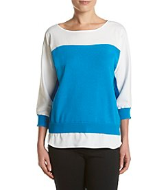 Calvin Klein Colorblocked Combo Sweater
