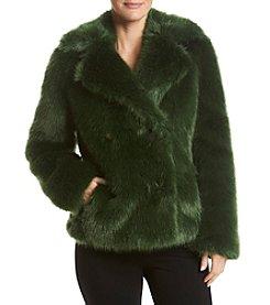 MICHAEL Michael Kors® Faux Fur Peacoat