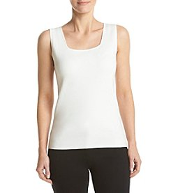 Kasper® Sweater Tank