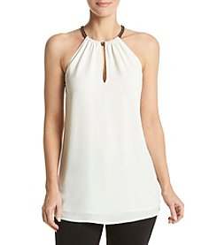 MICHAEL Michael Kors® Chain Neck Top