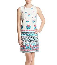 Taylor Dresses Floral Geo Dress