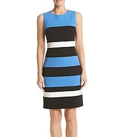 Tommy Hilfiger® Color Block Scuba Dress