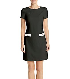 Tommy Hilfiger® A-Line Scuba Dress