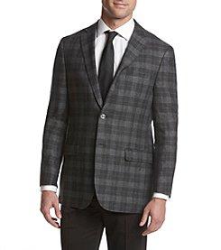 Calvin Klein Men's Checkered Slim Sportcoat
