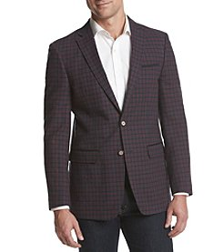 Tallia Orange Men's Grid Sport Coat