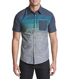 Ocean Current® Men's Mower Chambray Poplin Short Sleeve Button Down Shirt