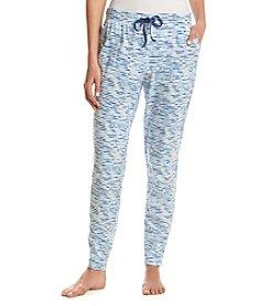 Relativity® Stripe Knit Sleep Jogger Pants