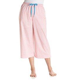 KN Karen Neuburger Plus Size Pajama Capri Pants