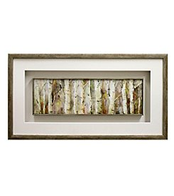 Birch Path Framed Art