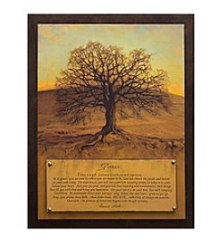 Star Creations Today Tree Plaque