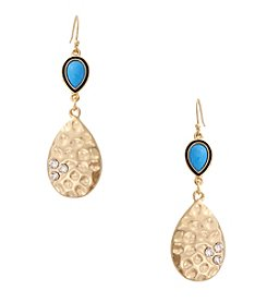 Erica Lyons® This Way Double Drop Pierced Earrings