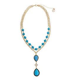 Erica Lyons® This Way Y Necklace