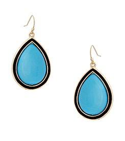 Erica Lyons® This Way Teardrop Pierced Earrings