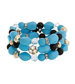 Erica Lyons® This Way Three Piece Stretch Bracelet
