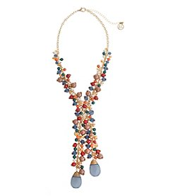 Erica Lyons® Cool Beaded Y Necklace