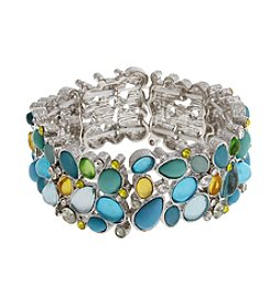 Erica Lyons® Lime A Rita Stretch Bracelet